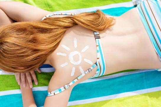 Sonnenbrand vorbeugen