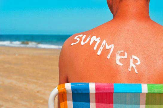 Was hilft gegen Sonnenbrand?